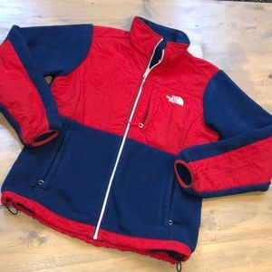 The north face women's RU/14 zip up jacket